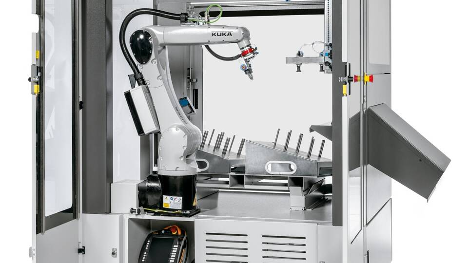 Mobile Bending Robot